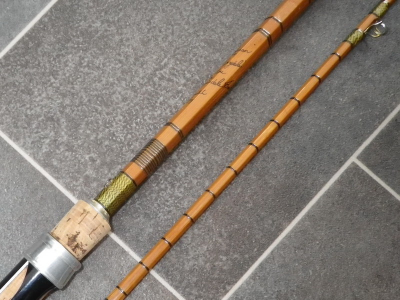 Vintage tackle sea spinning rods for Old fishing rods